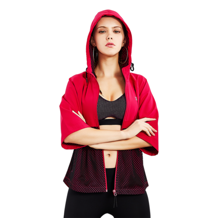 特步女装运动单层夏季新款透气风衣