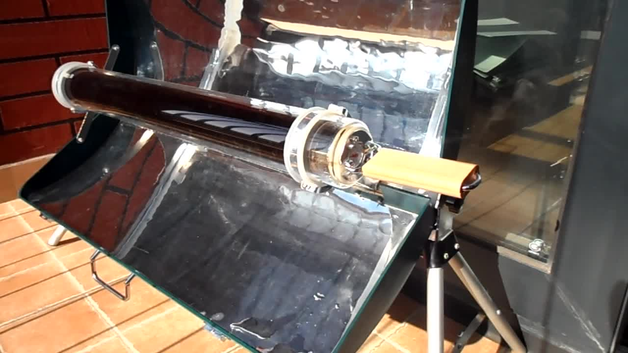 vacuum tube solar cooker outdoor solar cooking stove
