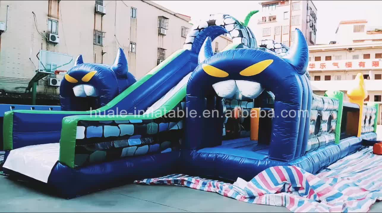 Factory direct sale Demon character bouncer /Large inflatable kids bouncy castle