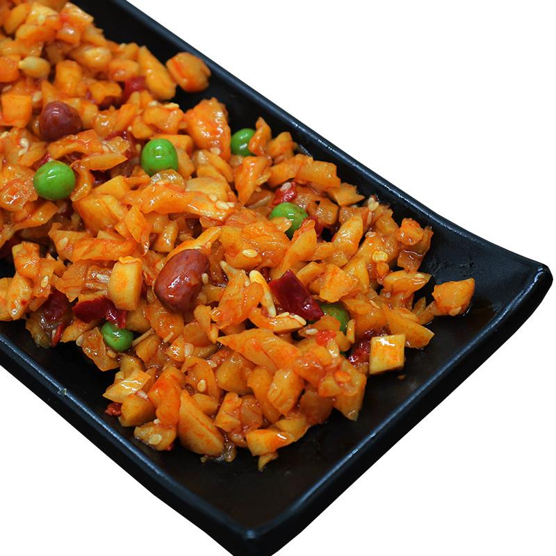 农家自制微辣下饭菜罐装五仁拌饭酱丁萝卜干开味800g咸菜酱菜