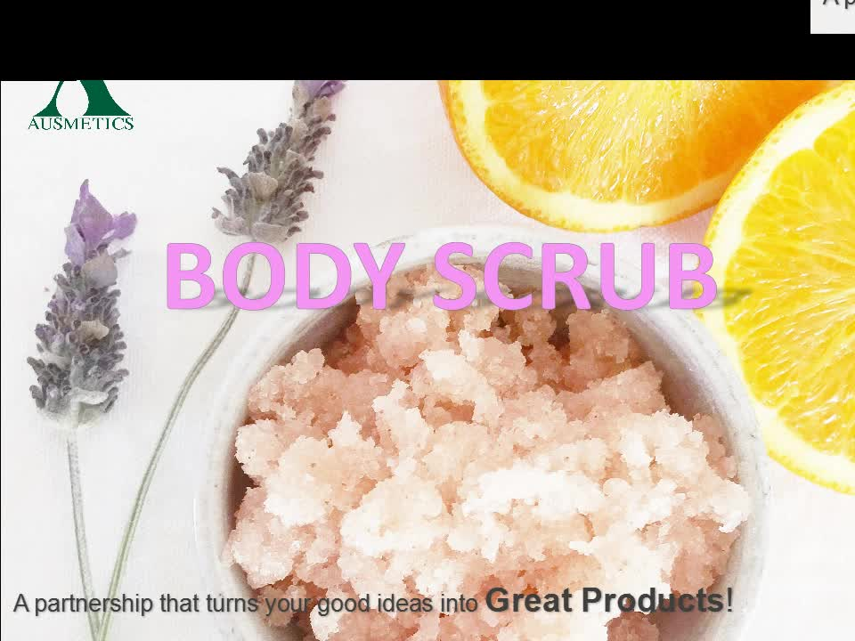 OEM welcome skincare arbic natural body scrub organic coffee body scrub