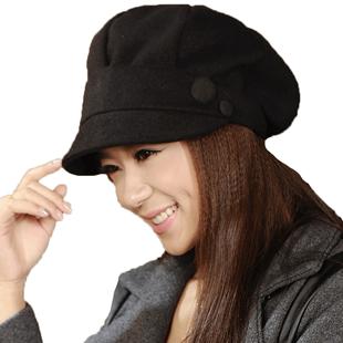 秋冬天时尚帽潮韩版显脸小蓓蕾帽