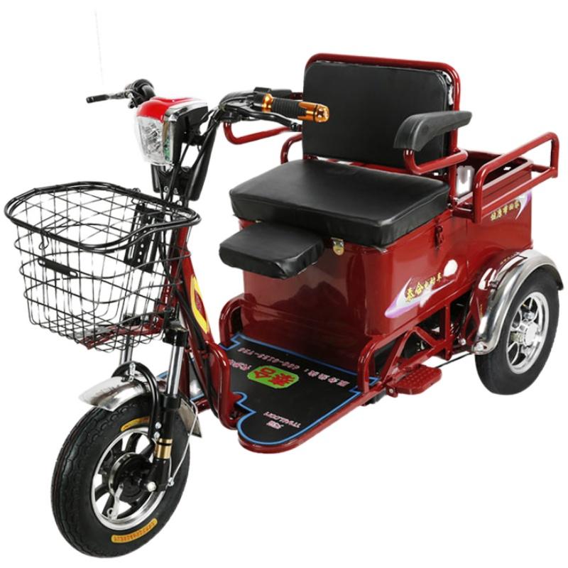 电动接送孩子成人家用新款三轮车