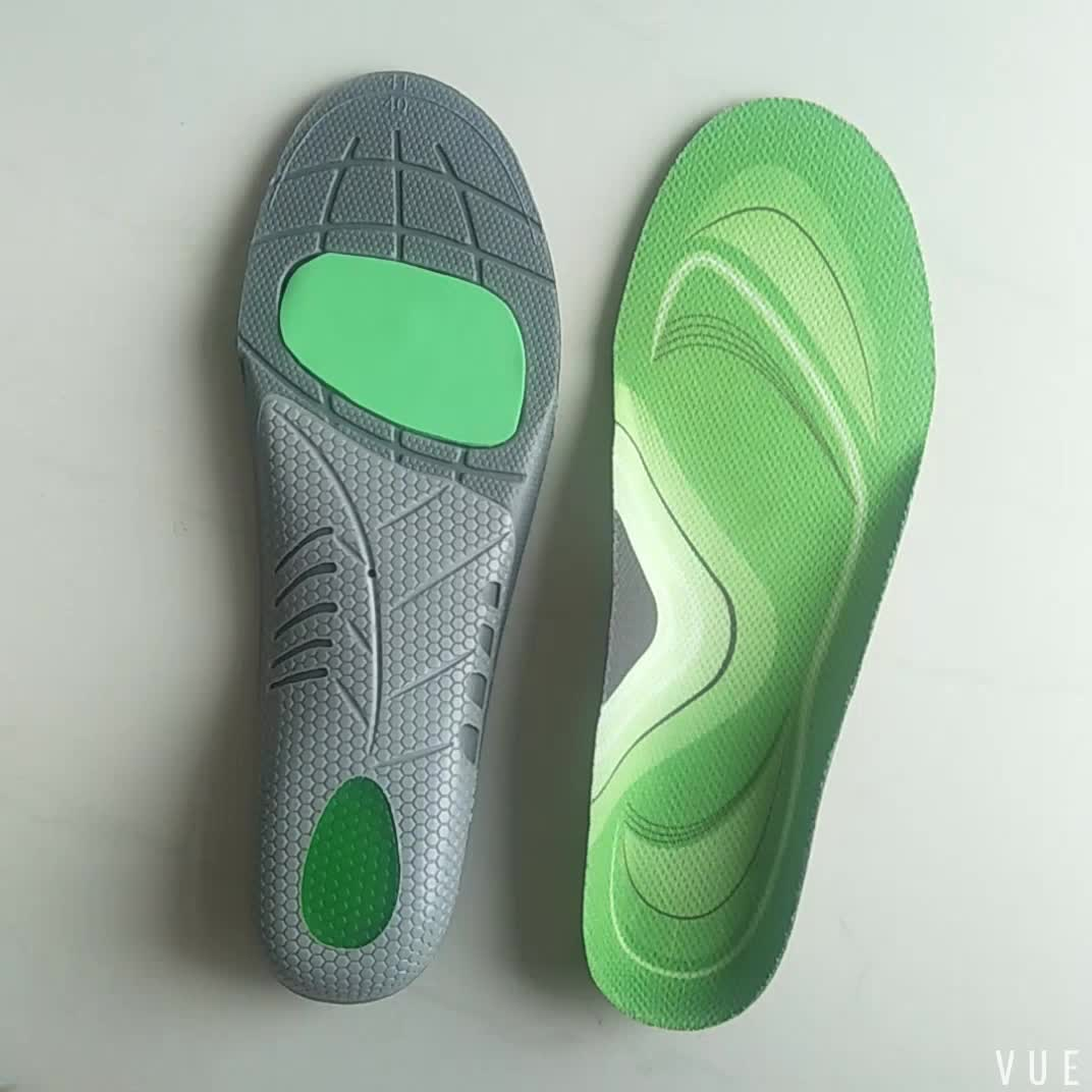 Hot sale TPU material orthotic flat foot arch support insoles