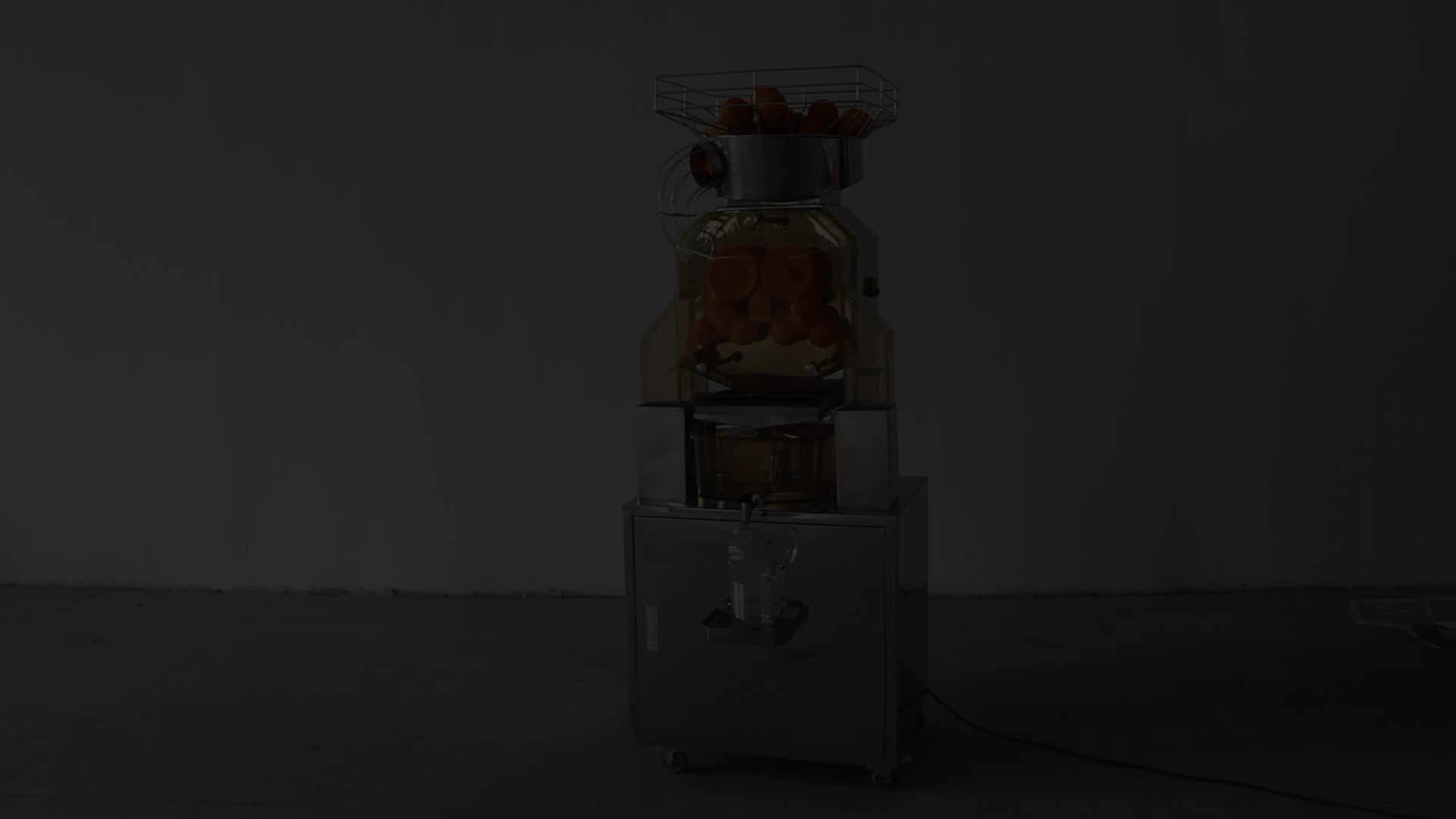 370 w वाणिज्यिक स्टेनलेस स्टील ऑटो नारंगी juicer के रस चिमटा juicer मशीन