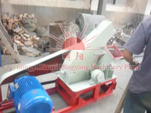 Grande caseiro elétrica industrial picador de madeira móvel preço da máquina para venda