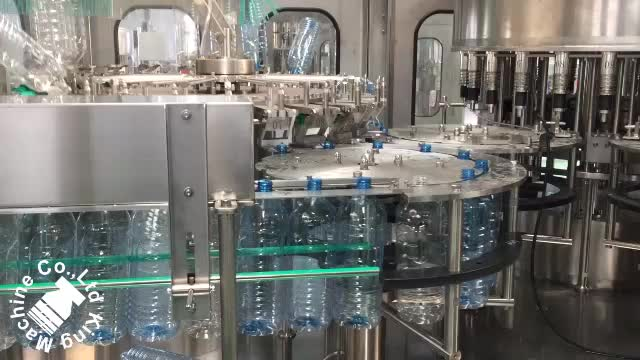 Automatic Plastic Bottle Pure Water Filling Machine