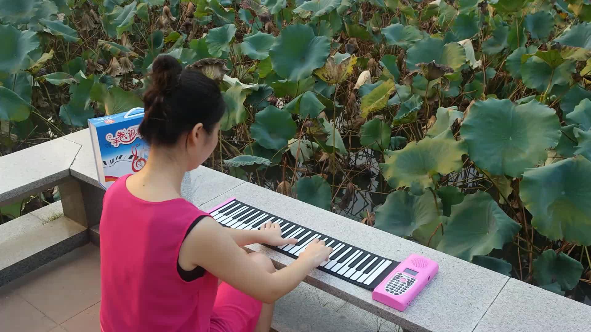 Bora groothandel muziek instrument 49 toetsen piano elektrische opvouwbare piano toetsenbord