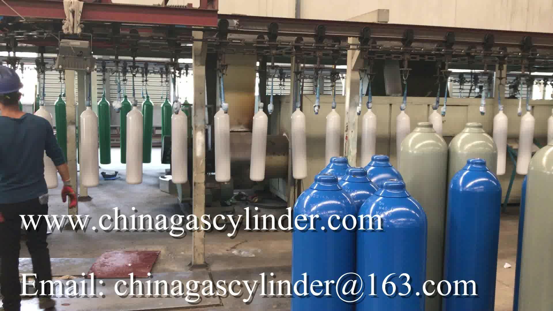 WMA219-40-15 Model 40L Empty Helium Gas Cylinder
