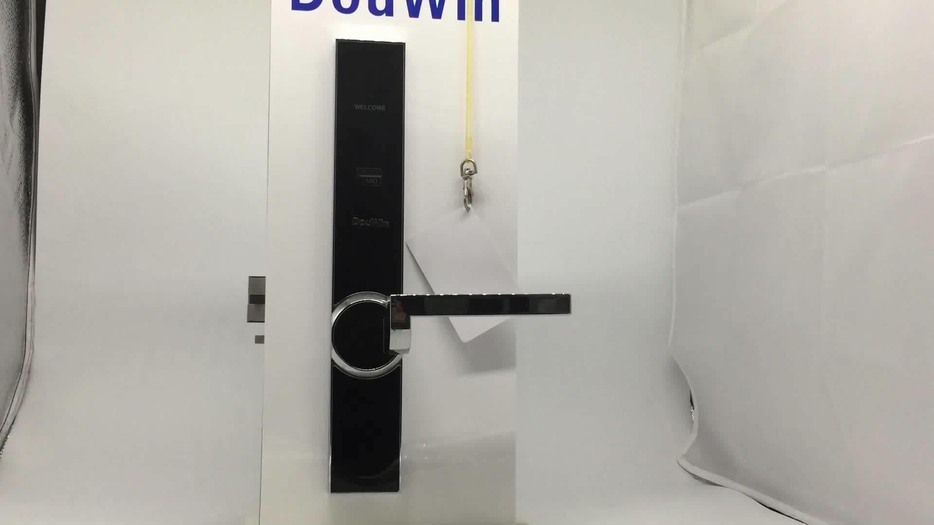 PABRIK Pembuatan Smart Alectronic Hotel Lock Kartu RFID Pintu Kunci Hotel