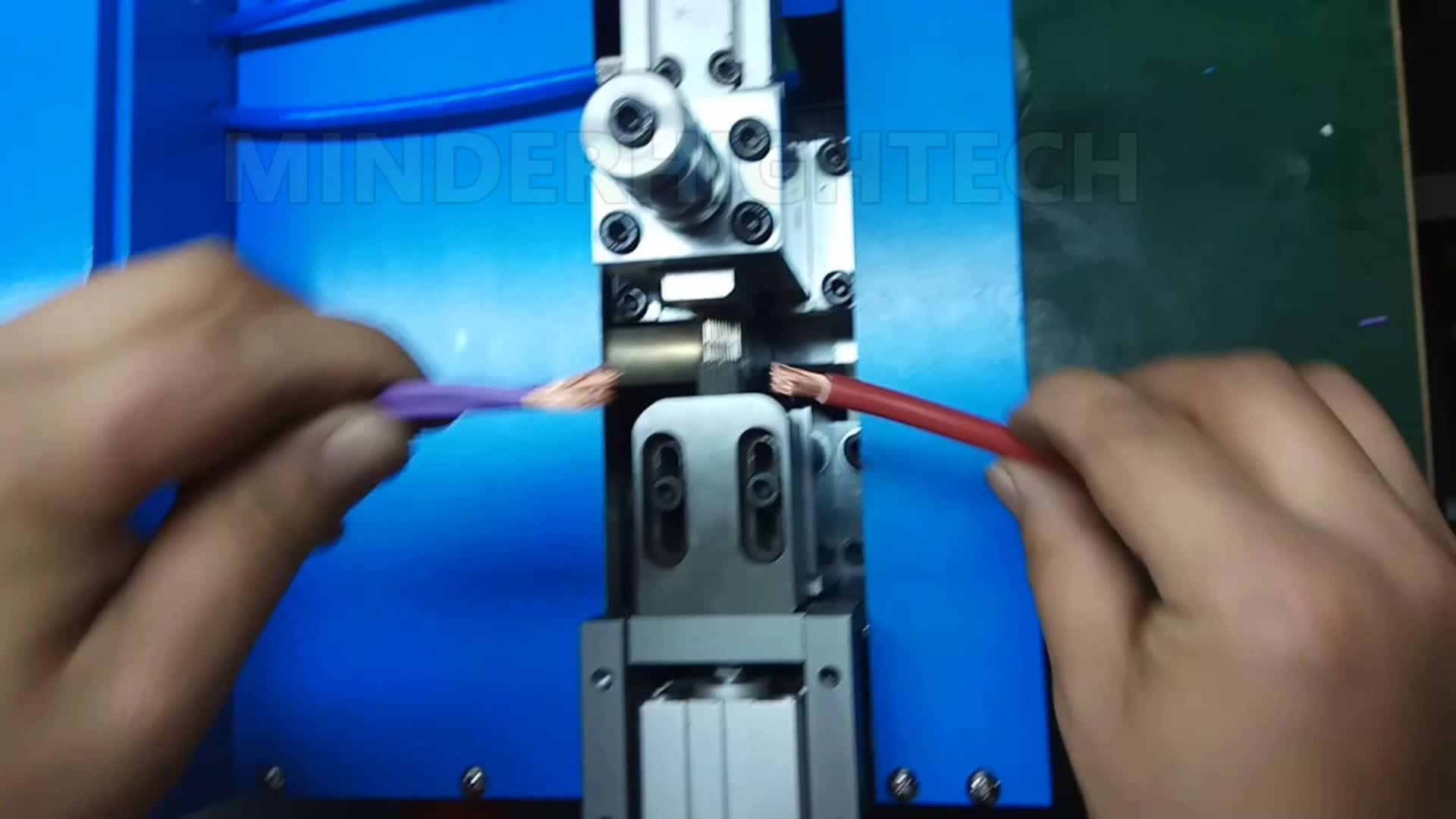 Ultrasonic Wire Splices And Joints Machine Buy Harness Spot Splice