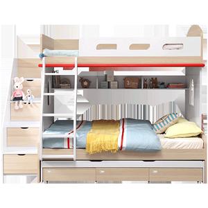 林氏木業兒童雙人大人成人高低床