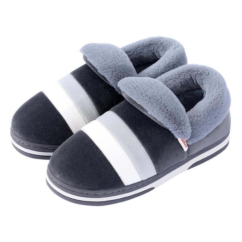 冬天棉拖鞋男包跟室内家用保暖鞋质量怎么样