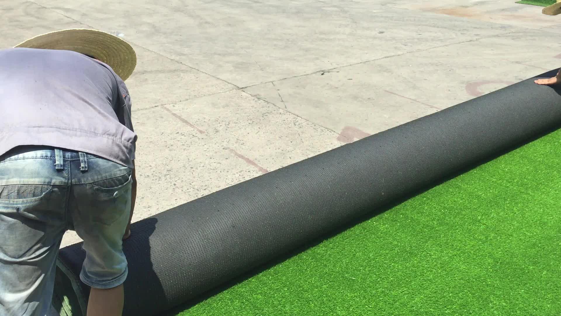 Tapete de grama verde calças artificiais