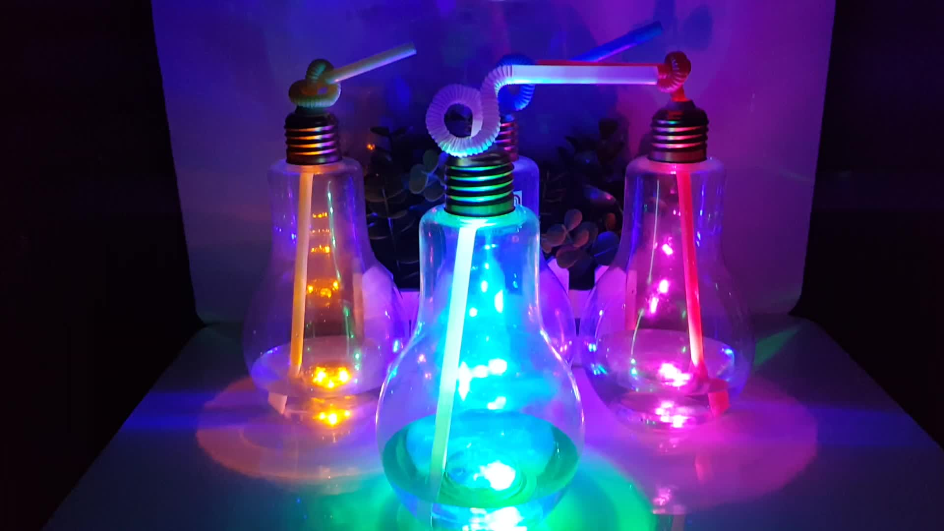 Clear Plastic Light Bulbs For Crafts
