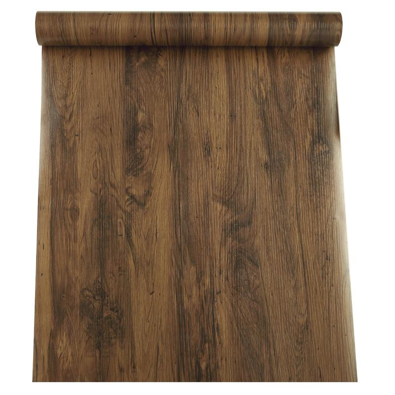 自粘仿真木纹纸复古桌面木纹贴纸质量好不好