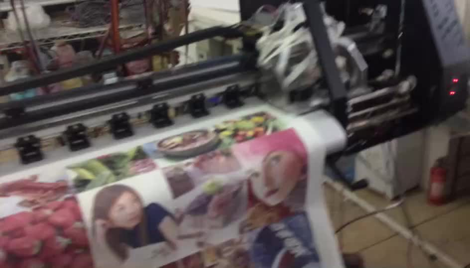 Heat transfer sublimation ink for Epson textile printer