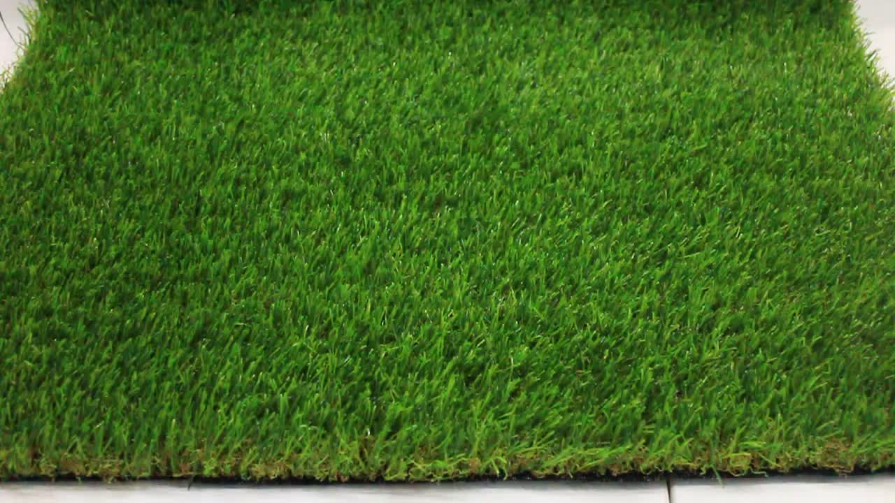 Wholesale 35mm garden decoration turf artificial grass for Artificial grass decoration