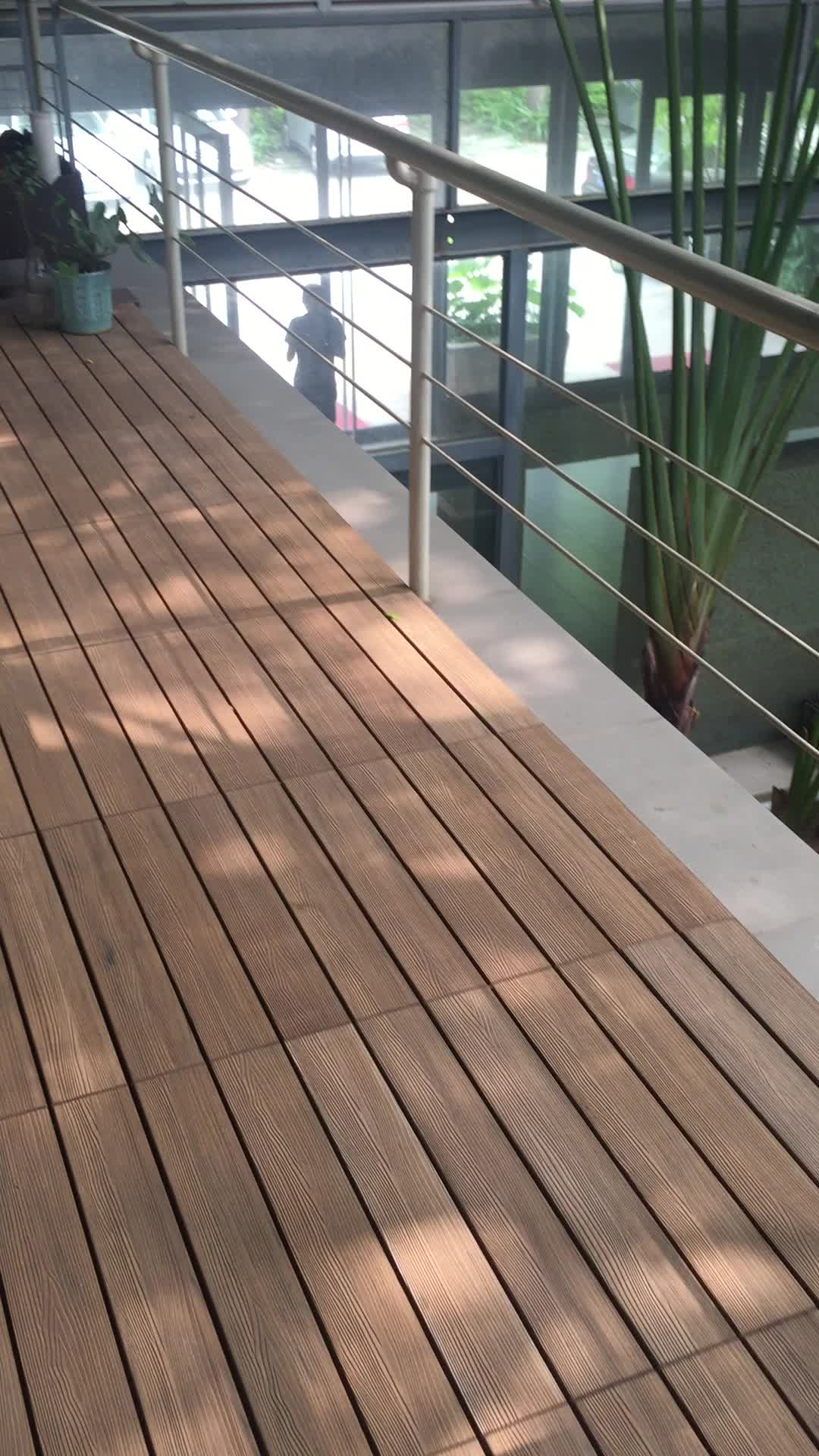 Wpc wall cladding panel deco board anti uv weather for Wpc decking