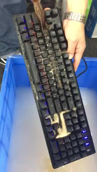 High quality gaming style led meachanical keyboard