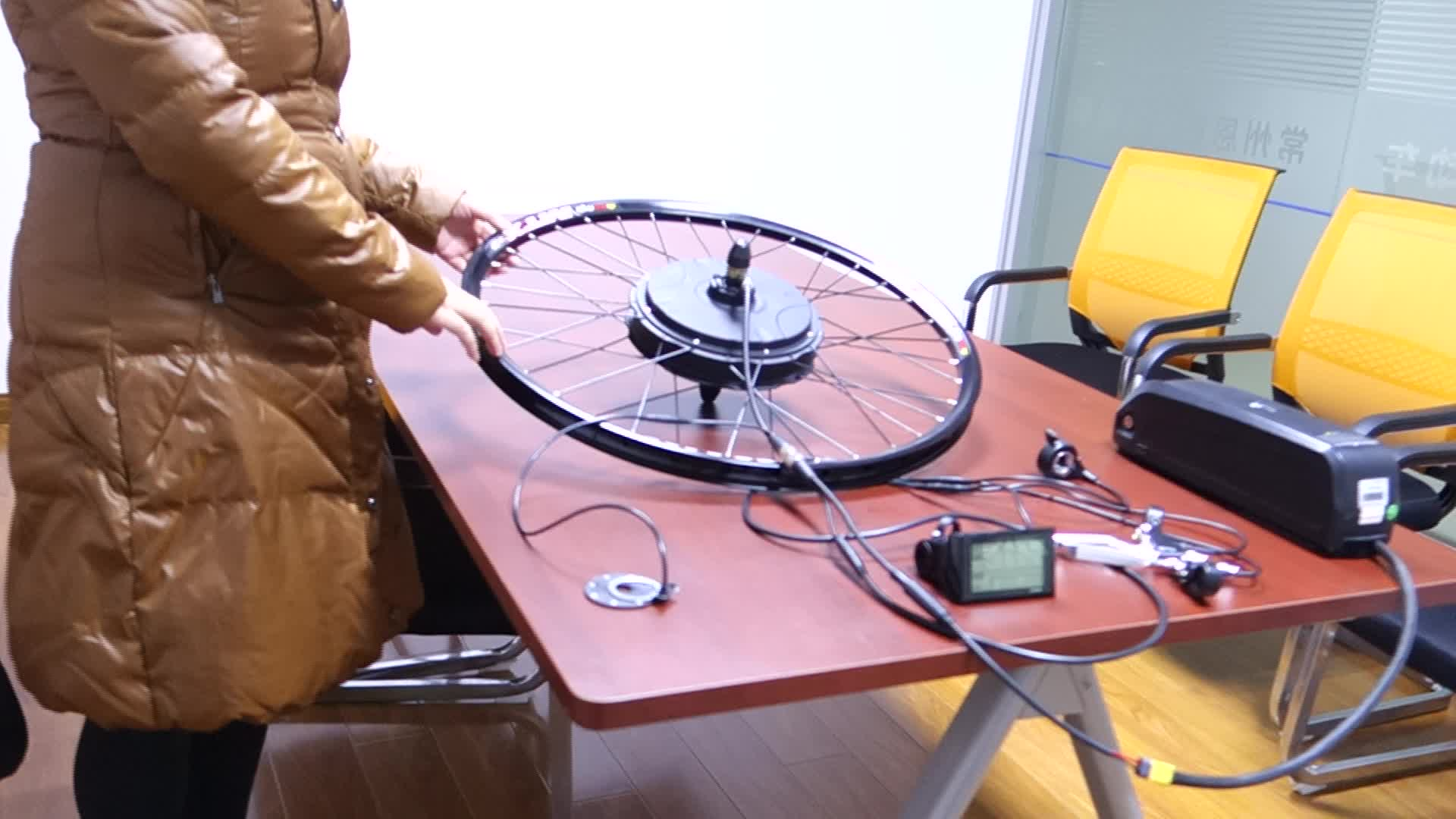 Factory cheap price hot sale 48v 1000w electric bike conversion kit with battery