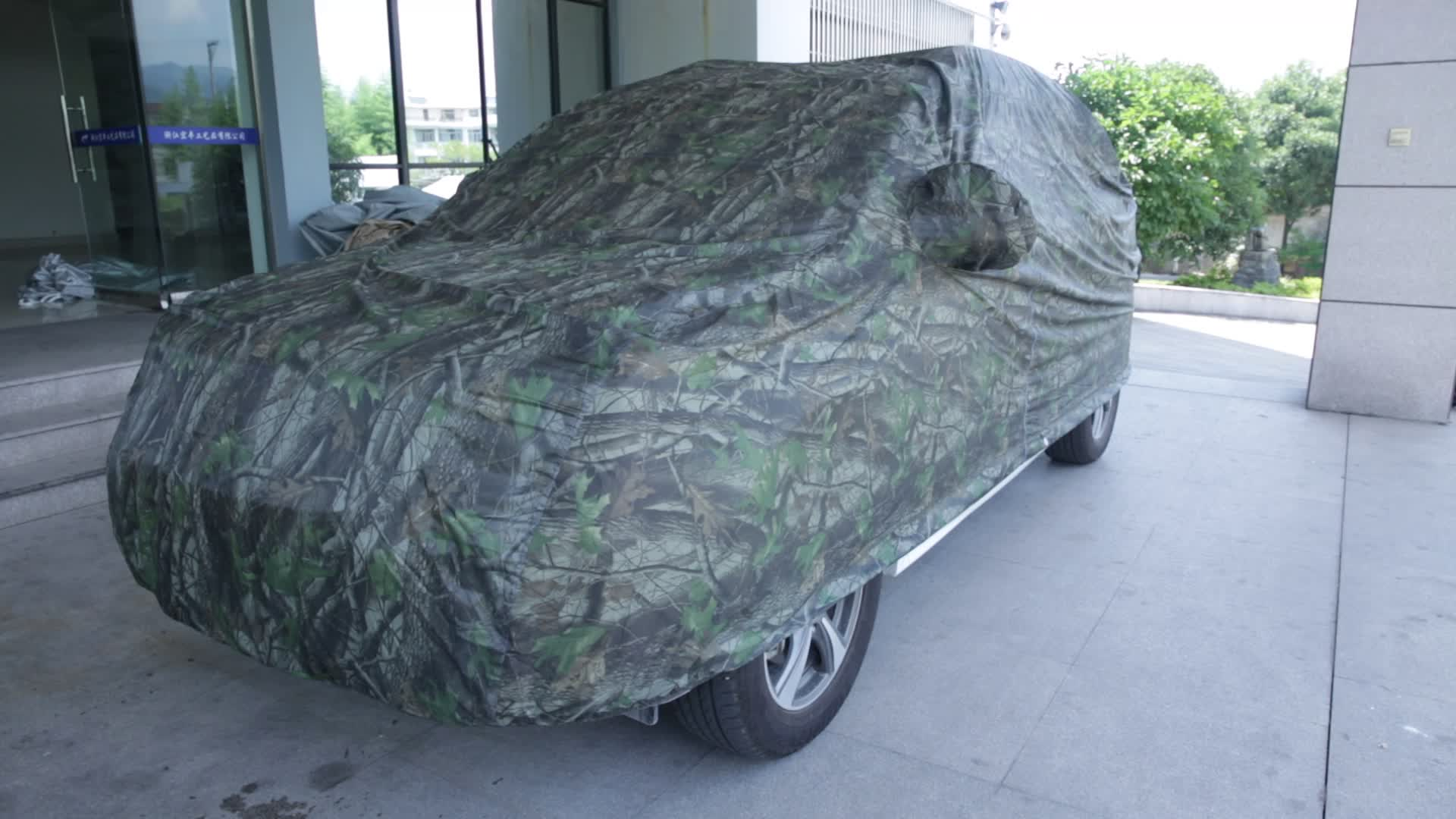 Best Selling Hoge Kwaliteit Camouflage Ademend Auto Cover