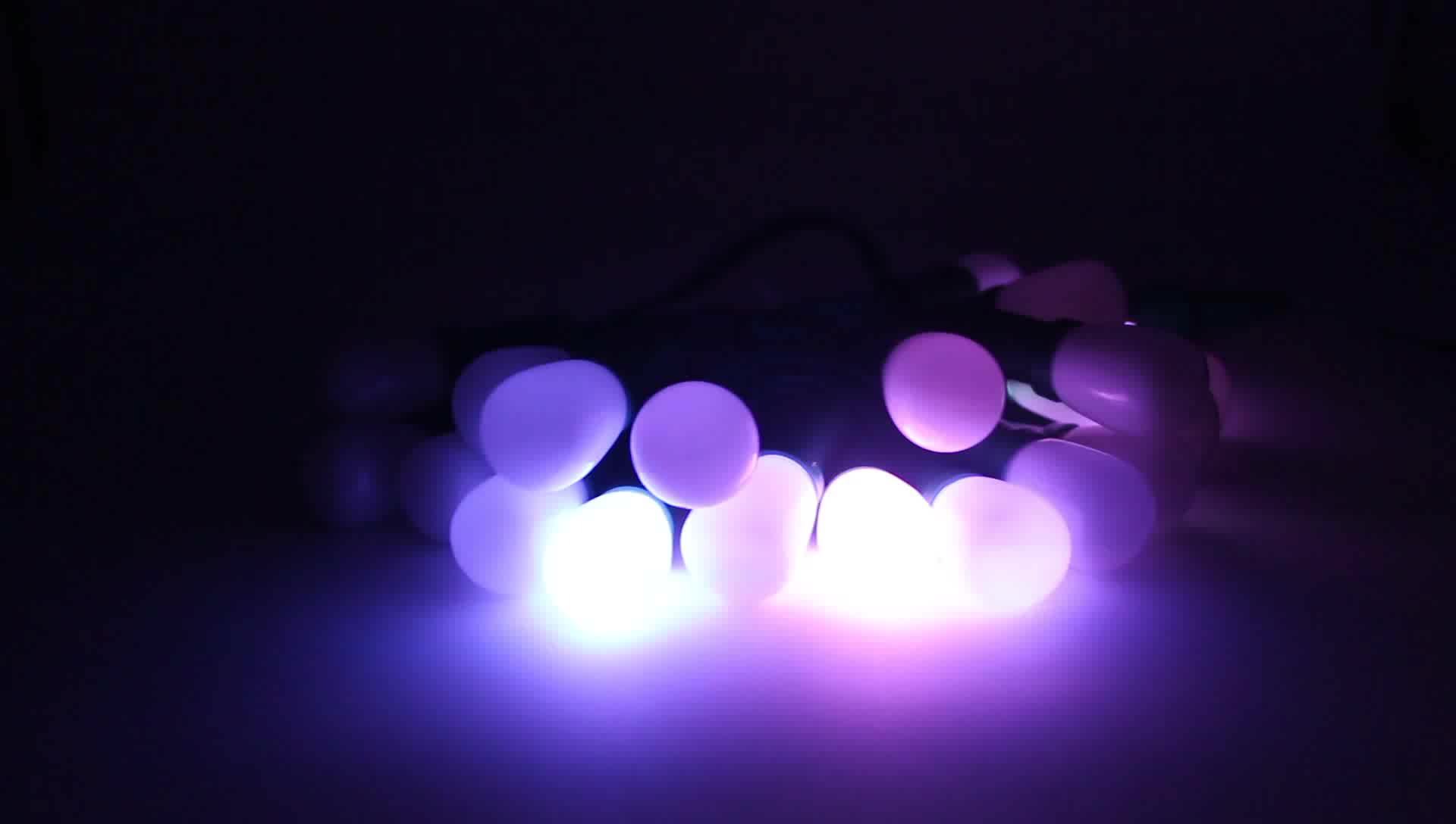 S20- G27 LED lights 5050 SMD christmas trees decoration led lights with IP68 waterproof