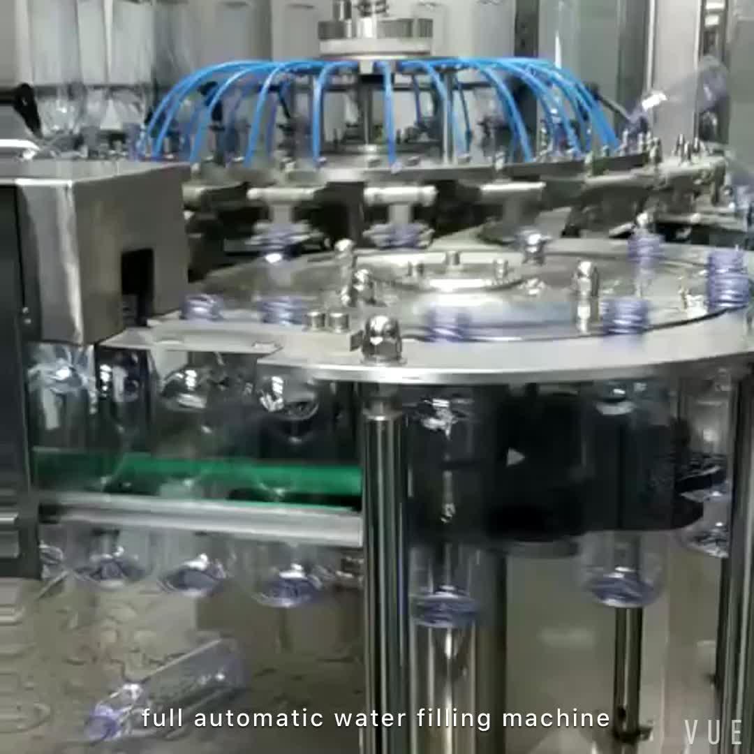 बिक्री के लिए व्यापक रूप से इस्तेमाल बॉटलिंग बोतलबंद पानी संयंत्र उपकरणों