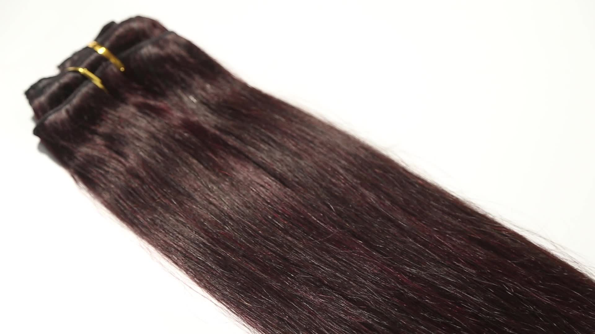 Piano Color 1b 99j Brazilian Human Hair Extensionsombre Colored