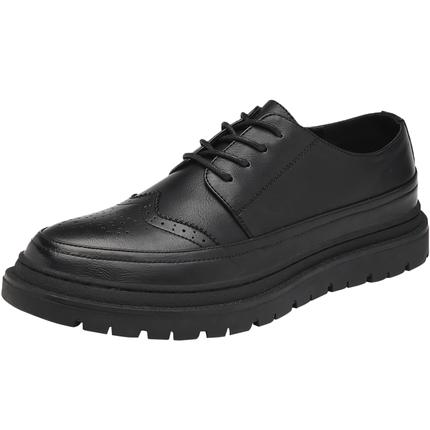 夏季布洛克男士潮增高韩版英伦男鞋