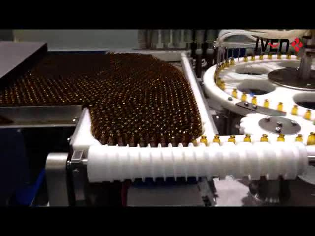 Automatic Syrup Filling Machine Production Line Manufacturing Plant