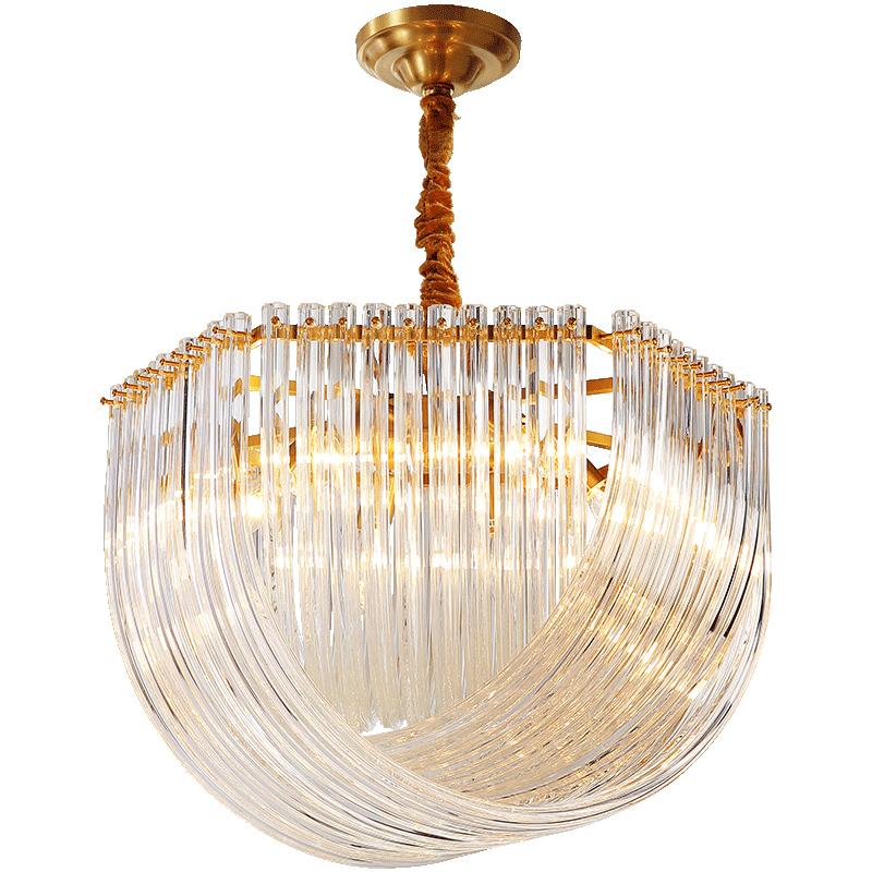 月影凯顿全铜后现代轻奢水晶吊灯好用吗