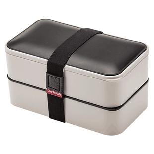 科罗恩双层日式可微波炉学生午餐盒