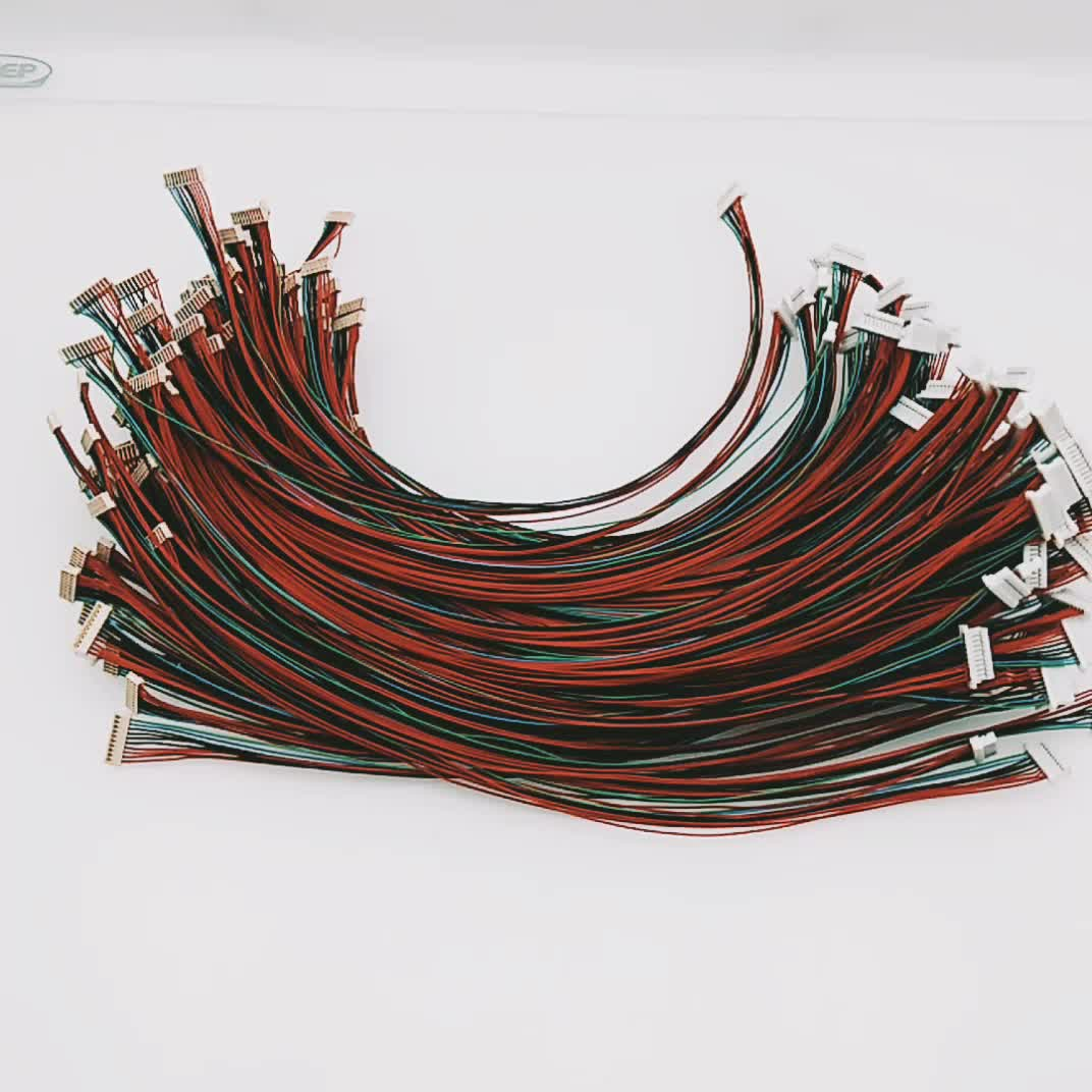 10pin 10mm Pitch Connector With Aces 91209 01011 To Shr 10v S 10 Pin Wire Harness