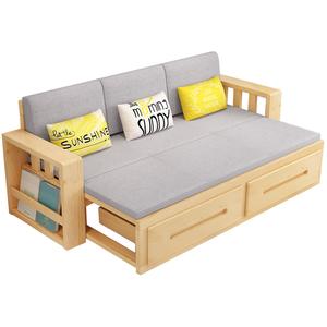 两用可折叠床小户型1.8实木沙发床