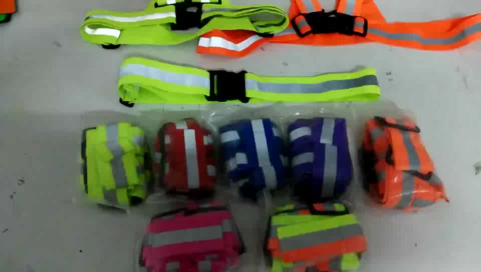 china supply traffic use safety vest / reflective vest belt / security jacket