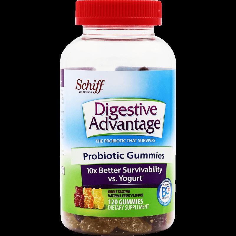 美国DA益生菌小熊软糖成人调理肠道肠道防便秘120粒