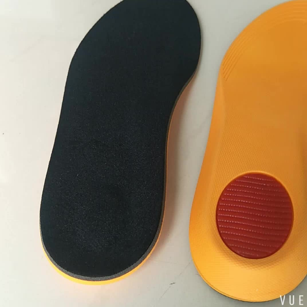 PU and memory foam material arch support sport insole