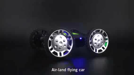 DWI Dowellin Air-ground Mode Flying Car 2 in 1 Cooler Fly Quadcopter With HD Camera