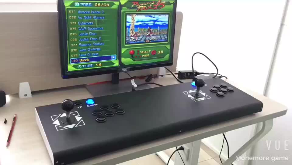 Multiple video game console cabinet