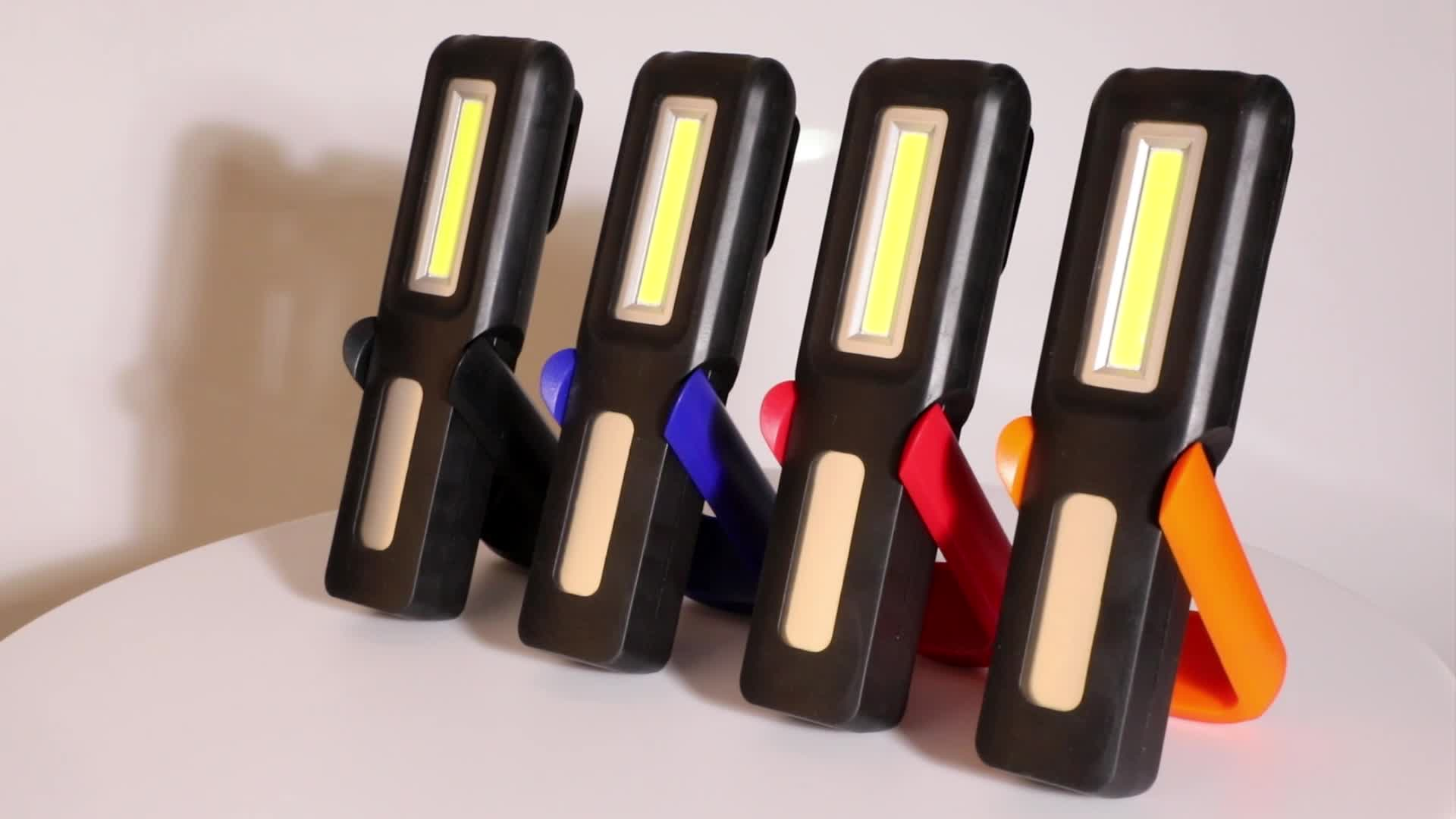 Promotion 3 W rechargeable led flashlight with strong magnet