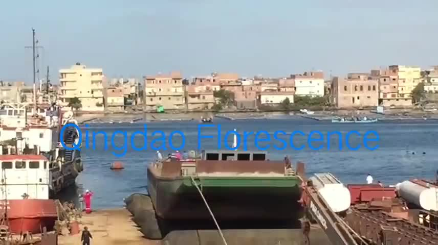 Tunnels Inflatable Ship Launching Airbag For Shipyard