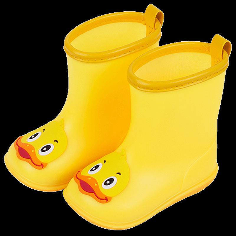 儿童雨鞋男童1-2岁3可爱宝宝雨靴雨衣套装女小童水鞋幼儿防滑水靴