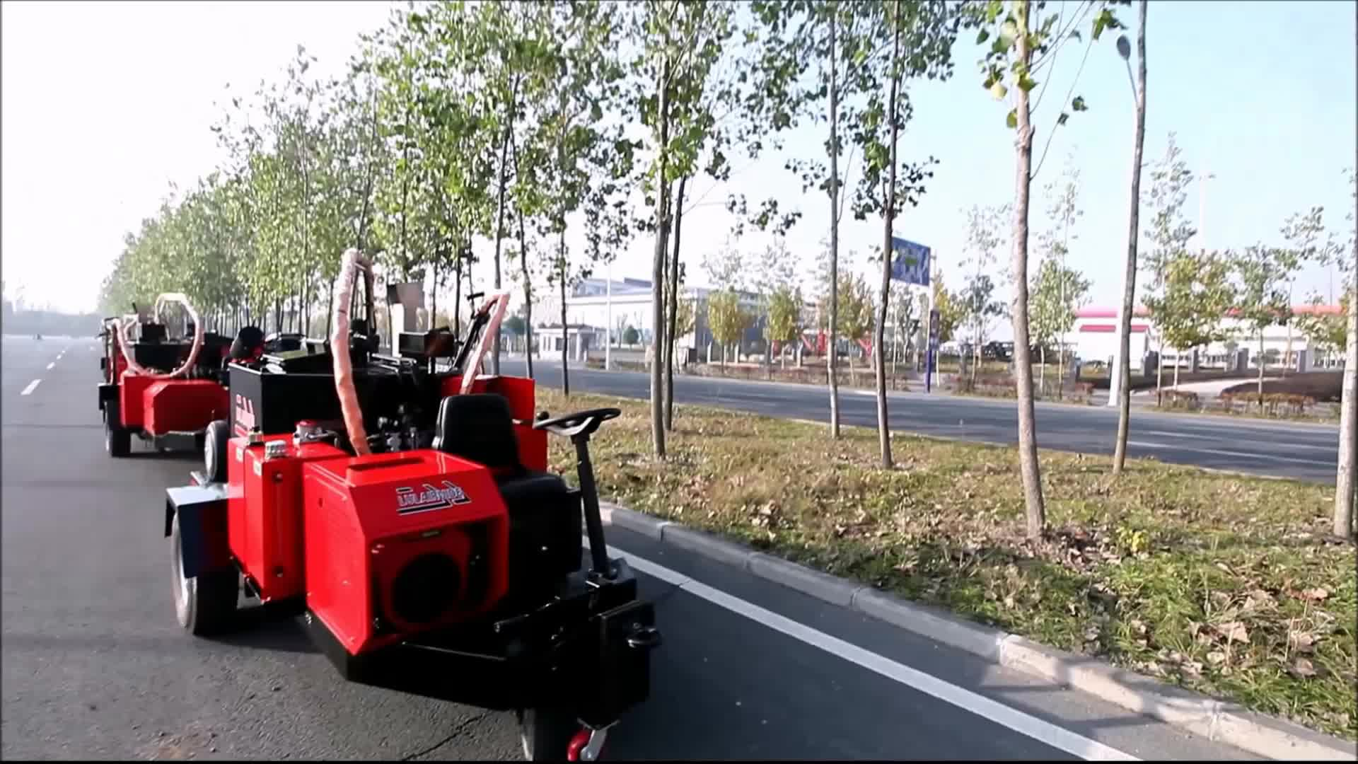 grooving machine asphalt router asphalt cutting machine