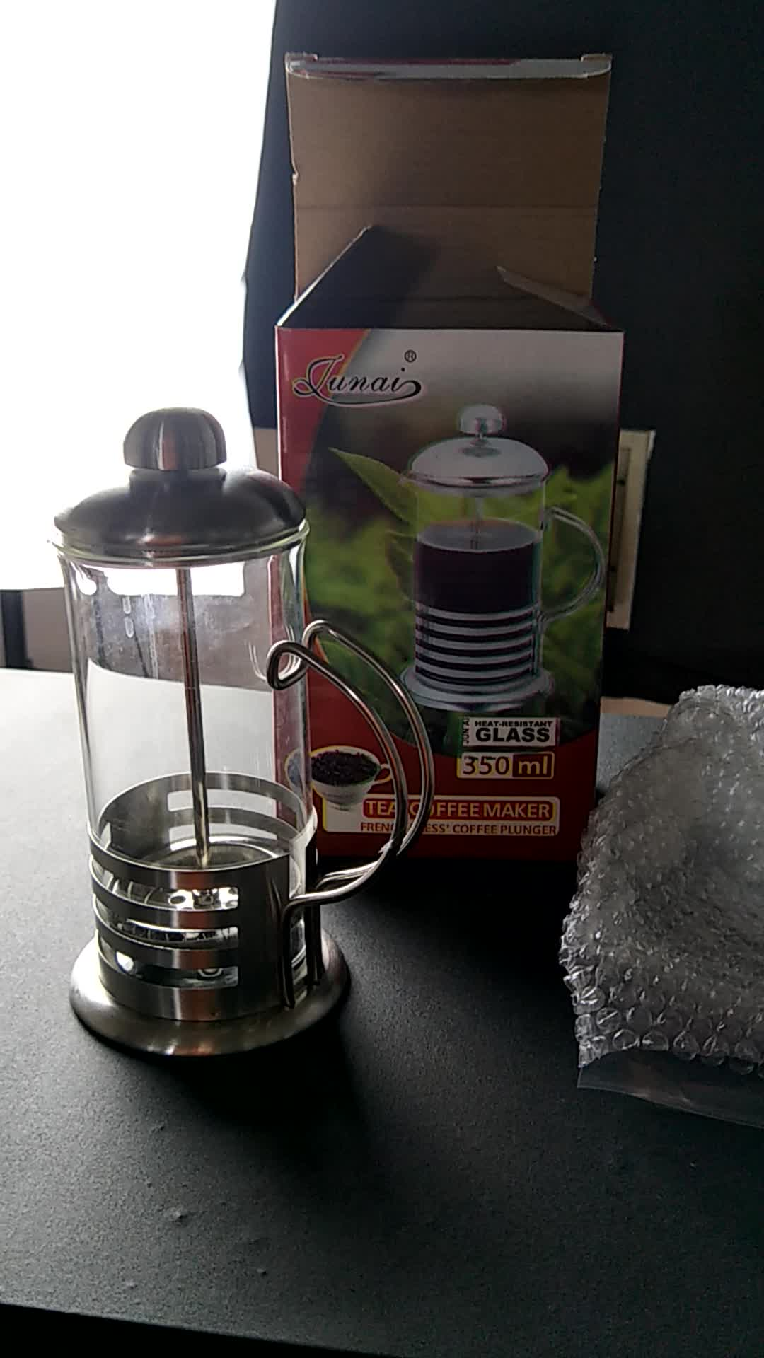 2017 Hot sale amazon high quality stainless steel espresso maker coffee maker french press