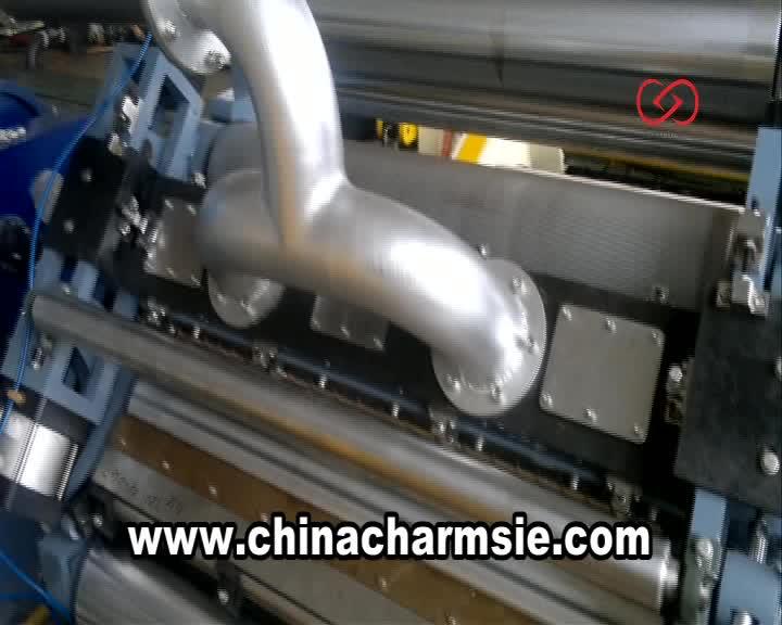 Giga lxc-280s automatische golfkarton kartonnen doos making machine prijs india