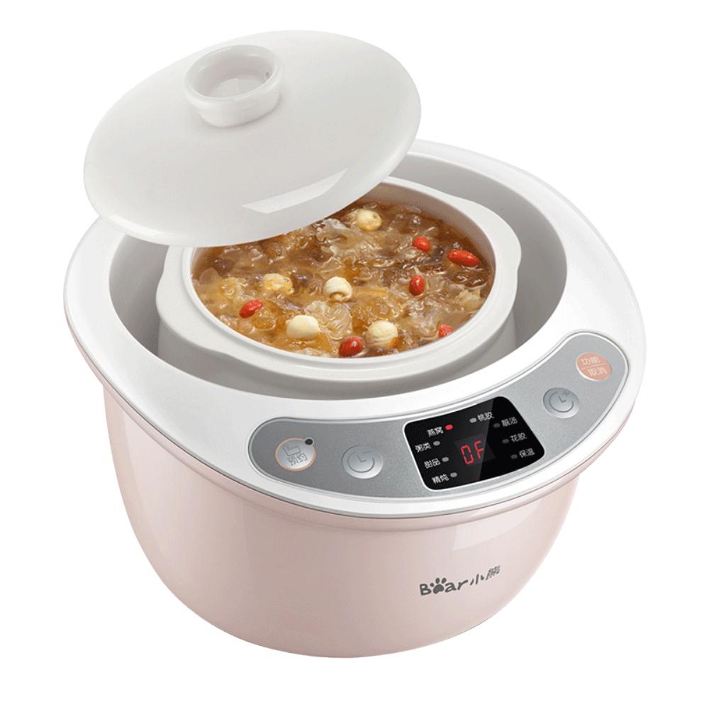 小熊隔水电炖盅家用燕窝全自动砂锅评价如何