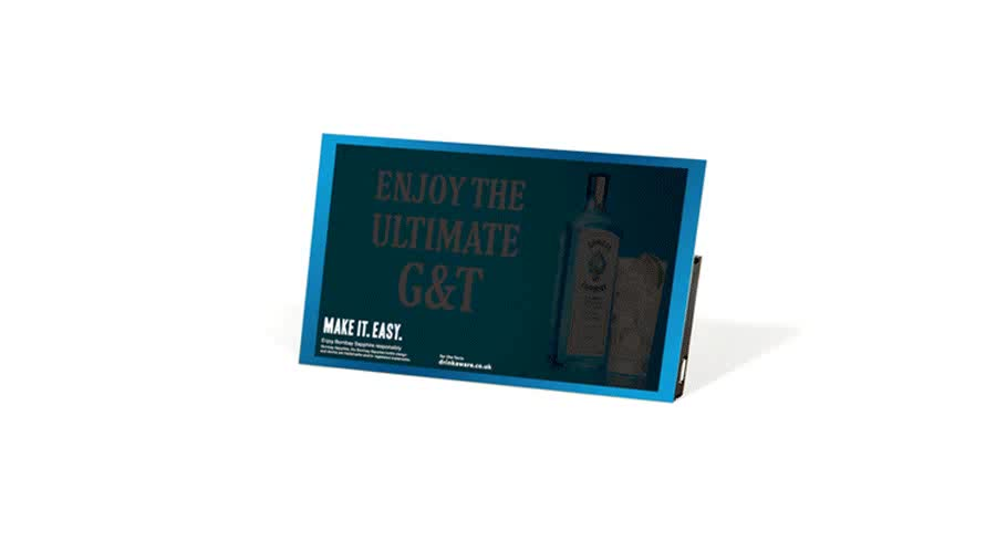 Epaper electronic advertising board, eink portable advertising display, instore advertising board