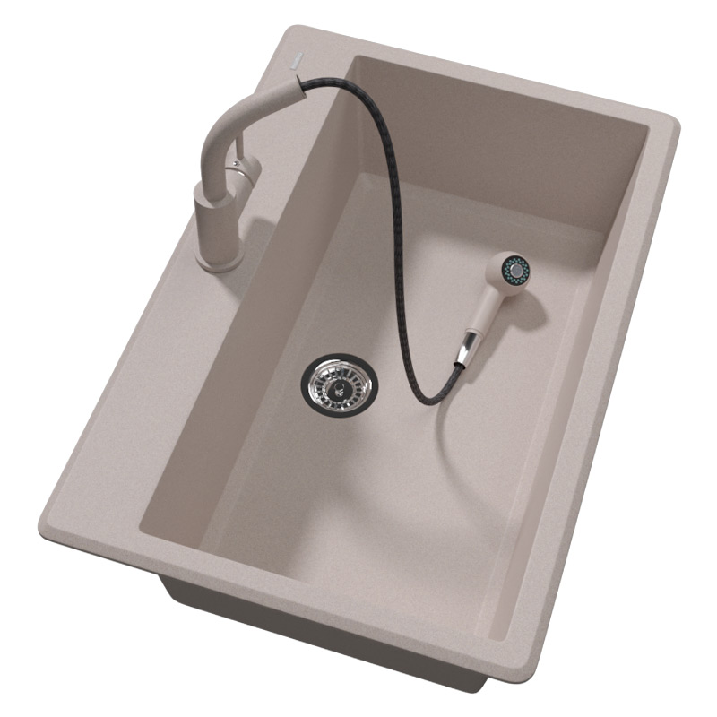 迈锐博德国进口白色石英石厨房水槽能入手吗
