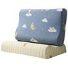 单人记忆枕头套纯棉牛奶绒乳胶枕套好用吗?